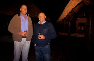 Herman van Niekerk & Ryno Goosen at the Summit Dinner.